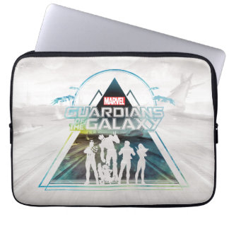 Guardians of the Galaxy | Triangle Outline Crew Laptop Sleeve