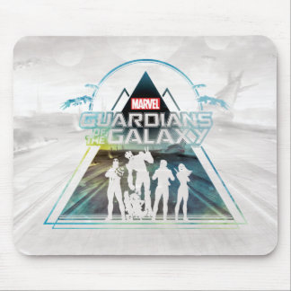 Guardians of the Galaxy   Triangle Outline Crew Mouse Pad