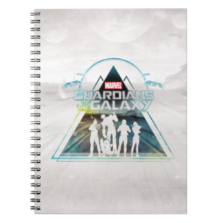 Guardians of the Galaxy | Triangle Outline Crew Notebook