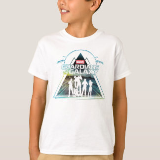 Guardians of the Galaxy   Triangle Outline Crew T-Shirt