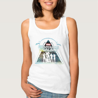 Guardians of the Galaxy | Triangle Outline Crew Tank Top