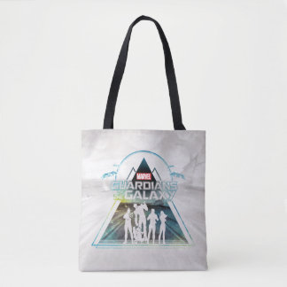 Guardians of the Galaxy | Triangle Outline Crew Tote Bag