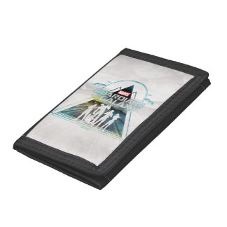 Guardians of the Galaxy | Triangle Outline Crew Tri-fold Wallets