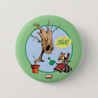 Guardians of the Galaxy | Watering Groot 2 Inch Round Button