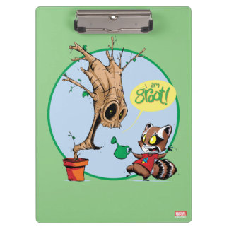 Guardians of the Galaxy | Watering Groot Clipboard