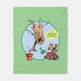 Guardians of the Galaxy | Watering Groot Fleece Blanket