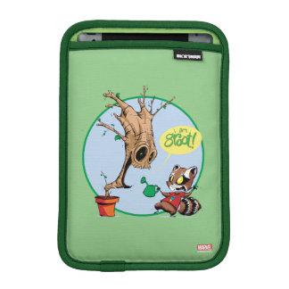 Guardians of the Galaxy   Watering Groot iPad Mini Sleeve