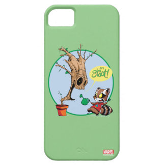 Guardians of the Galaxy | Watering Groot iPhone 5 Covers