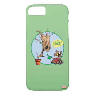 Guardians of the Galaxy | Watering Groot iPhone 8/7 Case
