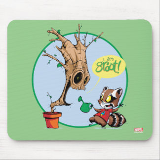 Guardians of the Galaxy   Watering Groot Mouse Pad