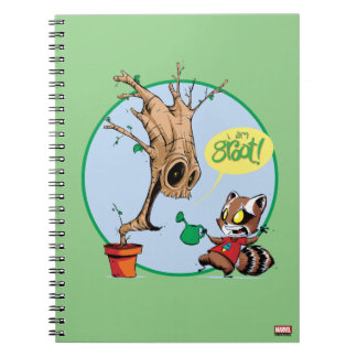 Guardians of the Galaxy | Watering Groot Notebooks