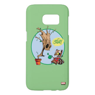 Guardians of the Galaxy | Watering Groot Samsung Galaxy S7 Case