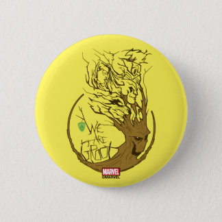 Guardians of the Galaxy | We Are Groot Branches 2 Inch Round Button