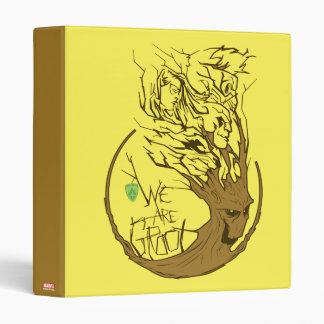 Guardians of the Galaxy | We Are Groot Branches Binder