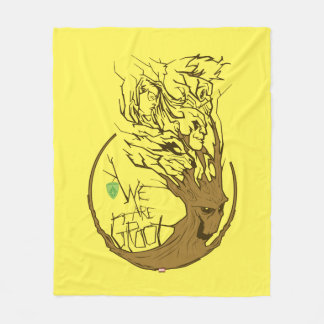 Guardians of the Galaxy | We Are Groot Branches Fleece Blanket