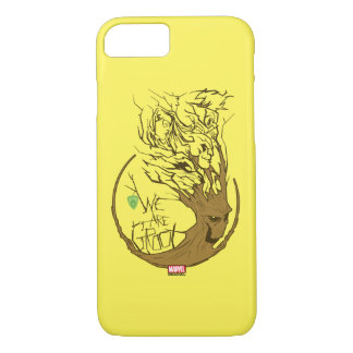 Guardians of the Galaxy | We Are Groot Branches iPhone 8/7 Case