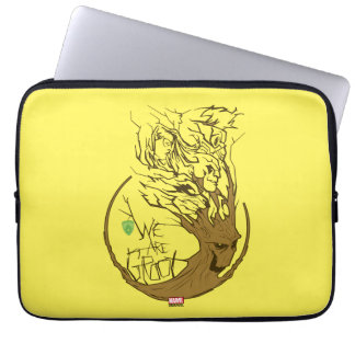 Guardians of the Galaxy | We Are Groot Branches Laptop Sleeve