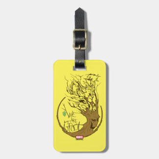 Guardians of the Galaxy | We Are Groot Branches Luggage Tag