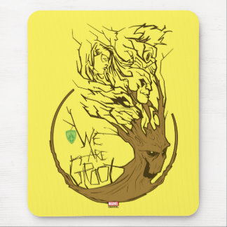 Guardians of the Galaxy   We Are Groot Branches Mouse Pad