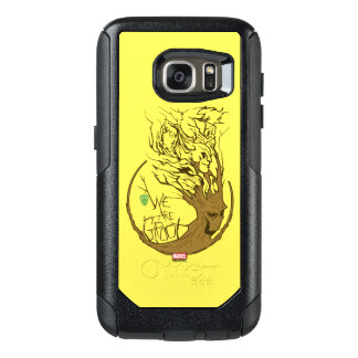 Guardians of the Galaxy | We Are Groot Branches OtterBox Samsung Galaxy S7 Case