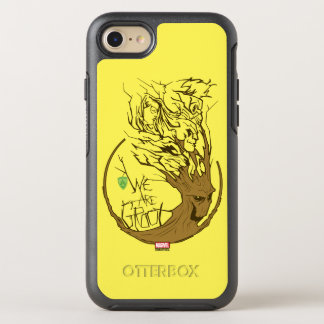 Guardians of the Galaxy | We Are Groot Branches OtterBox Symmetry iPhone 7 Case
