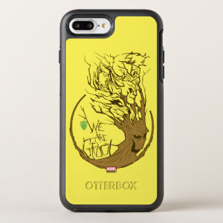 Guardians of the Galaxy | We Are Groot Branches OtterBox Symmetry iPhone 8 Plus/7 Plus Case