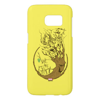 Guardians of the Galaxy | We Are Groot Branches Samsung Galaxy S7 Case