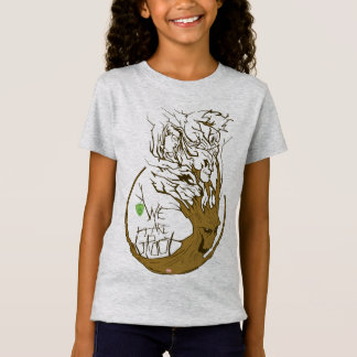 Guardians of the Galaxy   We Are Groot Branches T-Shirt
