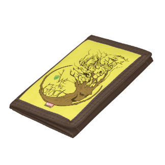 Guardians of the Galaxy | We Are Groot Branches Tri-fold Wallets