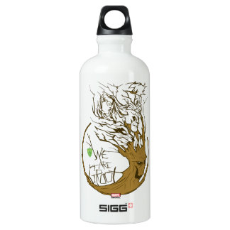 Guardians of the Galaxy | We Are Groot Branches Water Bottle