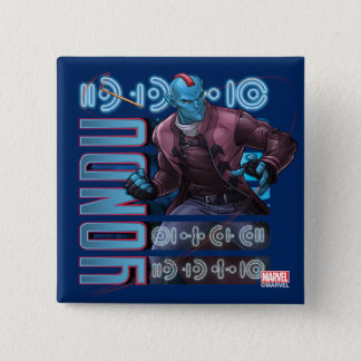 Guardians of the Galaxy | Yondu Character Badge 2 Inch Square Button