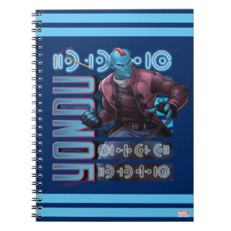 Guardians of the Galaxy | Yondu Character Badge Spiral Notebook