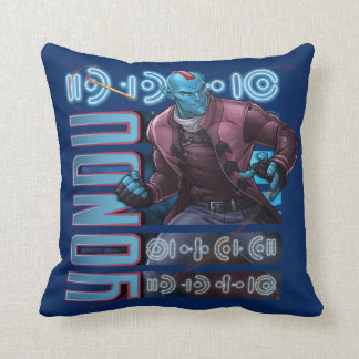 Guardians of the Galaxy | Yondu Character Badge Throw Pillow