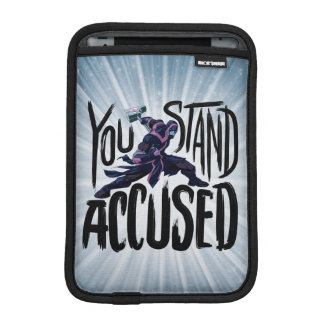 Guardians of the Galaxy   You Stand Accused iPad Mini Sleeve
