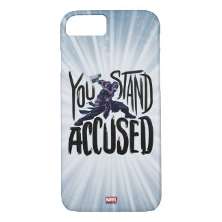 Guardians of the Galaxy | You Stand Accused iPhone 8/7 Case
