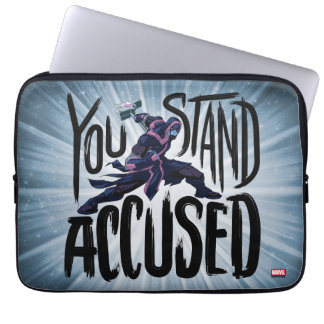 Guardians of the Galaxy | You Stand Accused Laptop Sleeve