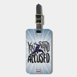 Guardians of the Galaxy | You Stand Accused Luggage Tag