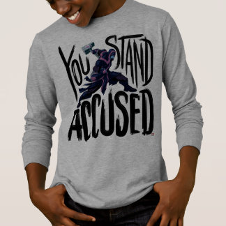 Guardians of the Galaxy | You Stand Accused T-Shirt