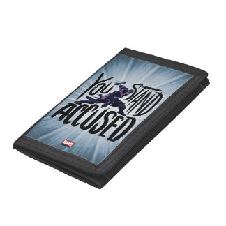 Guardians of the Galaxy | You Stand Accused Tri-fold Wallet