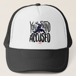 Guardians of the Galaxy   You Stand Accused Trucker Hat