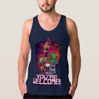 Guardians of the Galaxy | You're Welcome! Tank Top