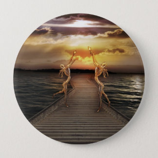 Guardians of the light 4 inch round button