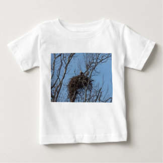 Guarding Eagle Baby T-Shirt