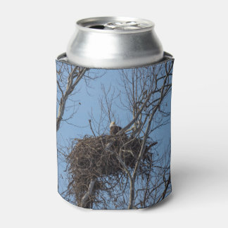 Guarding Eagle Can Cooler