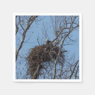 Guarding Eagle Napkin