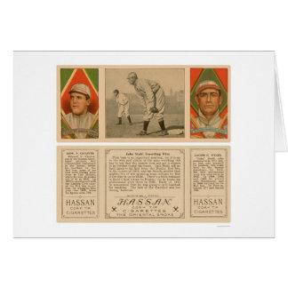 Guarding First Red Sox Baseball 1912 Card