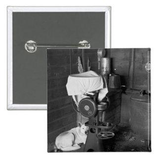 Guarding the Cream Separator 1936 Pinback Buttons
