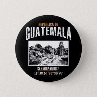 Guatemala 2 Inch Round Button