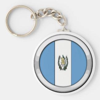 Guatemala Badge Keychain