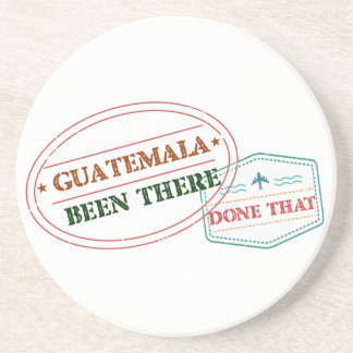 Guatemala Been There Done That Coaster
